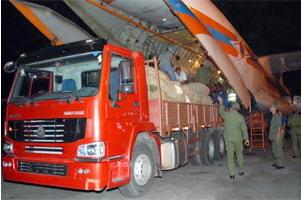 Arribó a Cuba primer avión ruso con ayuda humanitaria