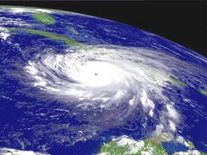 Cronología ciclónica de una tierra en su ruta