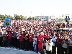 Fiesta de pueblo en la Plaza