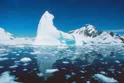 Deshielo acelerado en el Antártico