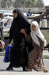 Mujeres iraquíes: cinco años en el infierno