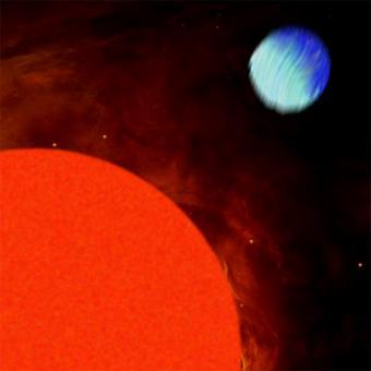 Descubren planeta extrasolar muy pequeño